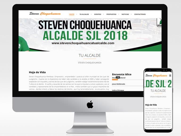 STEVEN CHOQUEHUANCA