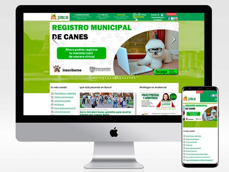 MUNICIPALIDAD SANTIAGO DE SURCO